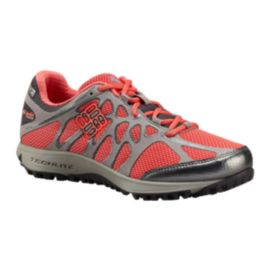 Columbia Women's Conspiracy Titanium OutDry Hiking  Shoes - Grey/Coral