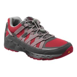Keen Men's Versatrail Hiking Shoes - Magnet/Racing Red