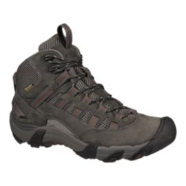 Keen Men's Alamosa Mid Waterproof Day Hiking Boots - Magnet/Tortoise Shell