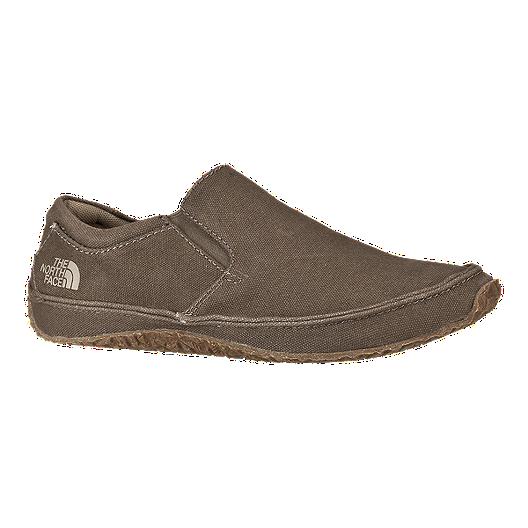 44dc5e020 The North Face Men's Bridgeton Lace Slip Canvas Shoes - Brown ...