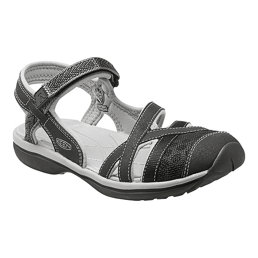 5cd25f6ec3d Keen Women s Sage Ankle Sandals - Black Grey