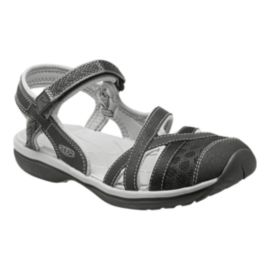 Keen Women's Sage Ankle Sandals - Black/Grey