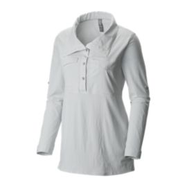 Mountain Hardwear Citypass Women's Long Sleeve Woven Popover Shirt