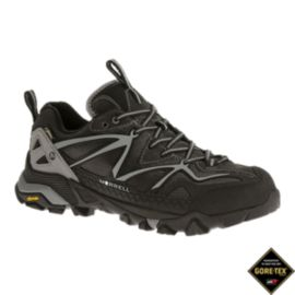 Merrell Men's Capra Sport GTX Hiking Shoes - Silver/Black