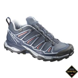 Salomon Women's X Ultra 2 GTX Hiking Shoes - Grey/Denim