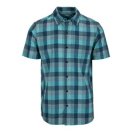 Icebreaker Departure II Men's Short Sleeve Plaid Shirt