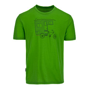 Icebreaker Tech Light Camper Bike Men's Short Sleeve Tee