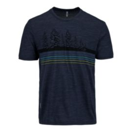 Icebreaker Tech Light Treeline Men's Short Sleeve Tee