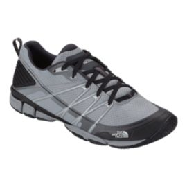 The North Face Men's LiteWave Ampere Trainer Hiking Shoes - Griffin Grey