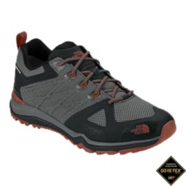The North Face Men's Ultra FastPack II GTX Hiking Shoes - Dark Grey/Spice