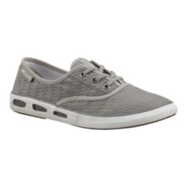 Columbia Women's Vulc N Vent Canvas II Shoes - Light Grey