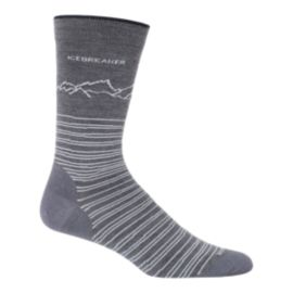 Icebreaker Men's Lifestyle Fine Gauge Crew Socks