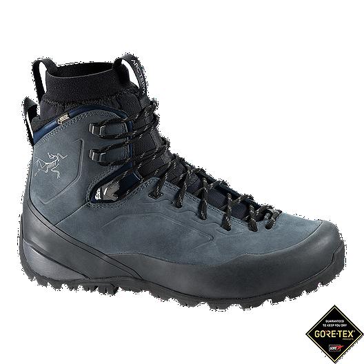 2d35811e556 Arc'teryx Men's Bora² Mid Leather GTX Hiking Boots - Denim/Black ...