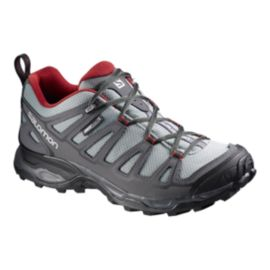 Salomon Men's X Ultra Prime ClimaShield Hiking Shoes - Grey