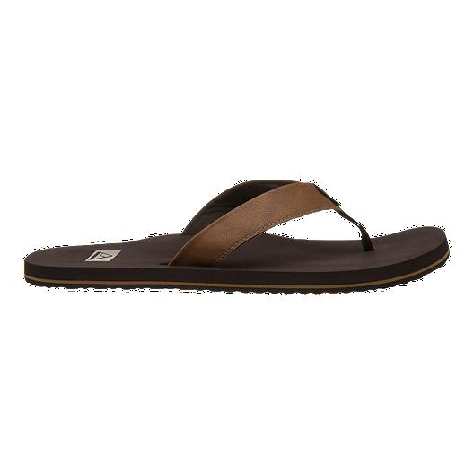 609ad2f45 Reef Men s TwinPin Flip Flops - Brown