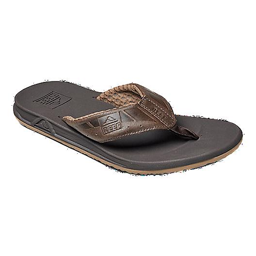 6fa1bf730e62 Reef Men s Phantom LE Flip Flops - Brown