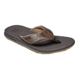 Reef Men's Phantom LE Flip Flops - Brown