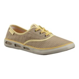Columbia Women's Vulc N Vent Canvas II  Shoes - Tan
