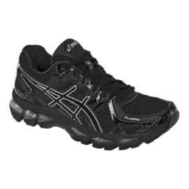 ASICS Women's Gel Kayano 21 D Wide Width Running Shoes - Onyx/Black