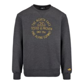 The North Face Tested And Proven Men's Fleece Crew Tee