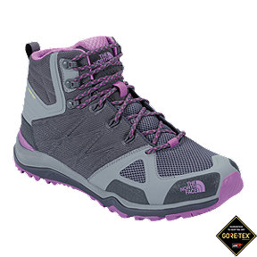 The North Face Women's Ultra FastPack II Mid GTX Day Hiking Boots - Grey/Purple