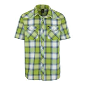 The North Face Romero Men's Short Sleeve Plaid Shirts