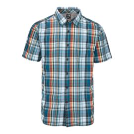 The North Face Solar Men's Plaid Short Sleeve Shirt