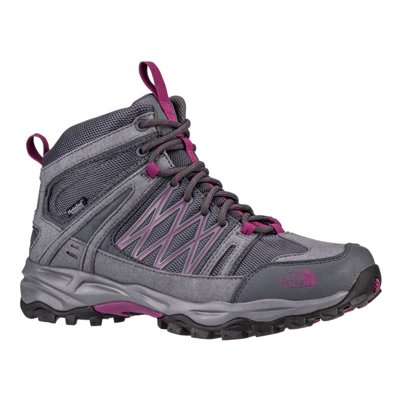Excellent The North Face Chilkat II Hiking Boots - Dark Gull Grey/Black | Free Delivery*
