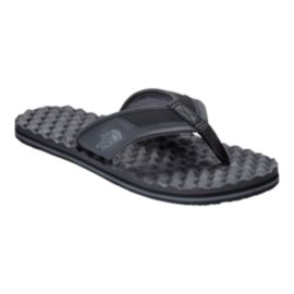 The North Face Men's Base Camp Plus Flip Flops - Black/Grey