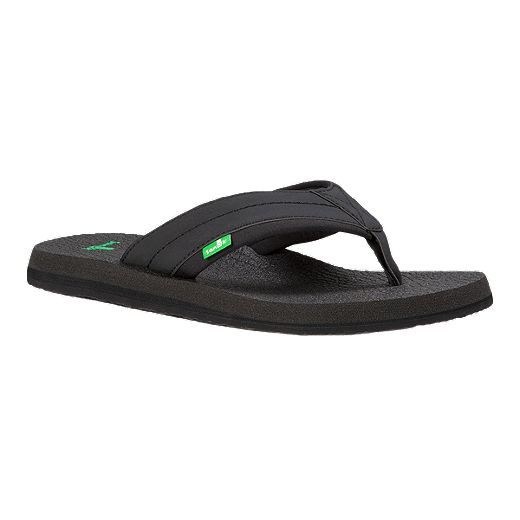 Sanuk Men's Beer Cozy 2 Flip Flops - Black