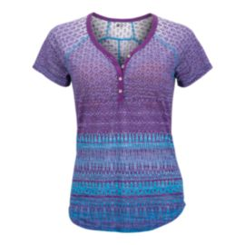 Marmot Women's Short Sleeve Henley Top