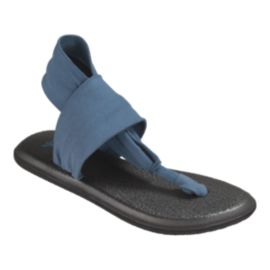 Sanuk Women's Yoga Sling 2 Slate Sandals - Blue