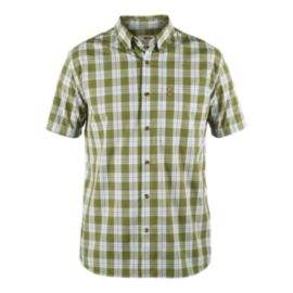 Fjällräven Ovik Men's Short Sleeve Plaid Shirt