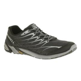 Merrell Men's Bare Access 4 Trail Running Shoes - Black/Grey