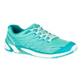 Merrell Women's Bare Access Arc 4 Trail Running Shoes - Teal Blue/Mint Green