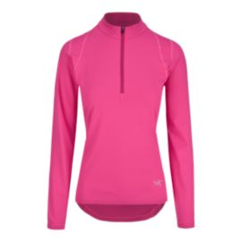 Arc'teryx Women's Ensa Zip Neck Long Sleeve Top