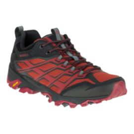 Merrell Men's Moab FST Hiking Shoes - Burgundy