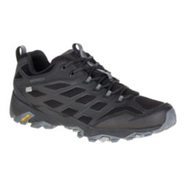 Merrell Men's Moab FST Waterproof Hiking Shoes - Noire