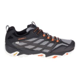 Merrell Men's Moab FST Waterproof Hiking Shoes - Black