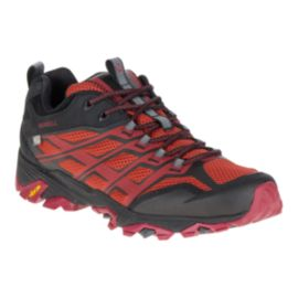 Merrell Men's Moab FST Waterproof Hiking Shoes - Burgundy