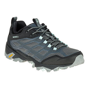 Merrell Women's Moab FST Hiking Shoes - Granite