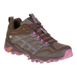 Merrell Women's Moab FST Waterproof Hiking Shoes - Boulder