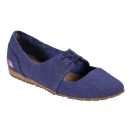 The North Face Women's Bridgeton Mary Jane Canvas Casual Shoes - Blue