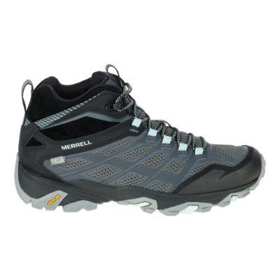 merrell womens moab fst mid waterproof hiking shoes size