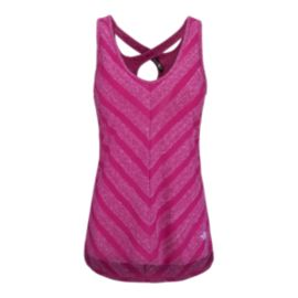 The North Face Women's Striped Breezeback  Tank