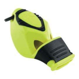 Fox 40 Epik CMG Safety Whistle with Breakaway Lanyard - Neon Yellow