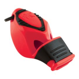 Fox 40 Epik CMG Safety Whistle with Breakaway Lanyard - Red