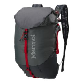 Marmot Kompressor 18L Day Pack - Cinder/Team Red