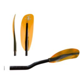 H2O Crystal X Bent Shaft Carbon Kayak Paddle - Orange