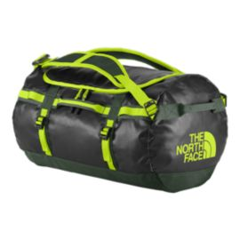 The North Face Base Camp 50L Small Duffel - Black/Spruce Green